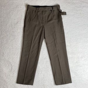 3.1 Phillip Lim Pants Cropped Pants Green Size 2